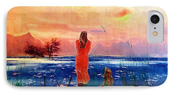 Remembering A Past Farewell. IPhone Case