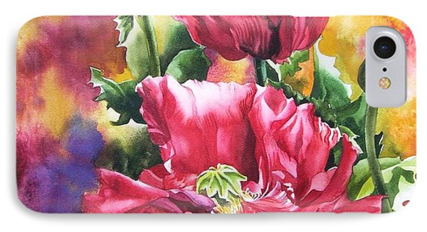 Poppies For Remembrance Day  IPhone Case