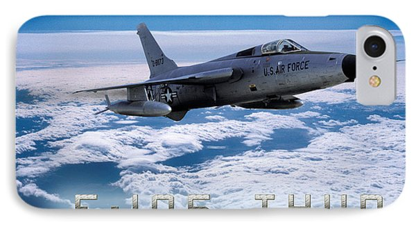 Republic F-105 Thunderchief IPhone Case