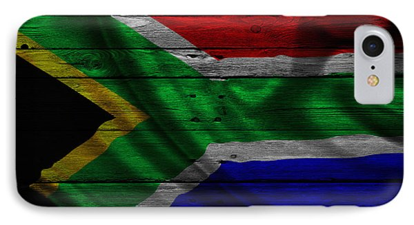 Republic Of South Africa iPhone 8 Case - Republic Of South Africa by Joe Hamilton