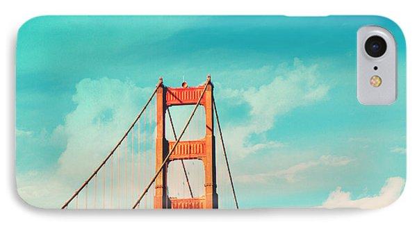 Retro Golden Gate - San Francisco IPhone Case