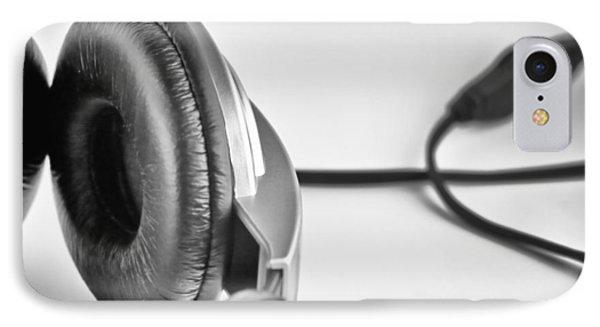 Retro Headphones IPhone Case