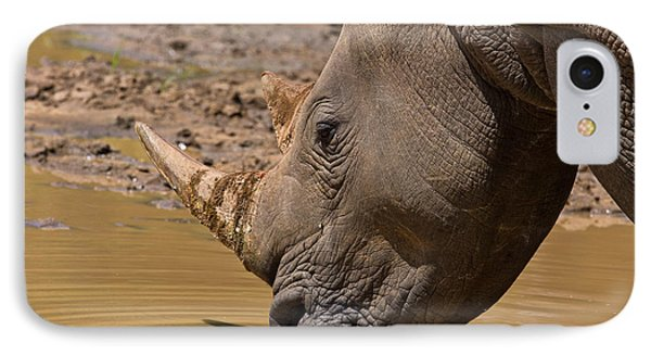 Rhino Drinking IPhone Case
