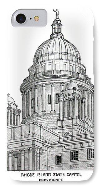 Rhode Island State Capitol IPhone Case