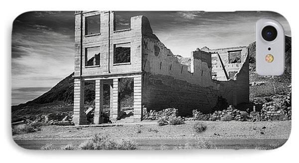 Rhyolite Bank In Death Valley IPhone Case