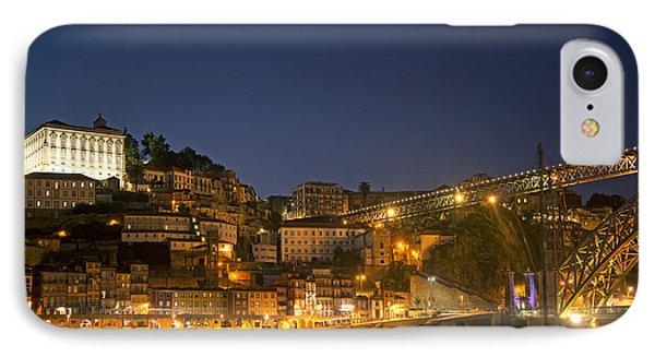 Ribeira Area Of Porto Portugal IPhone Case