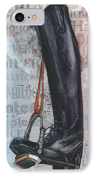 Riding Boot  IPhone Case