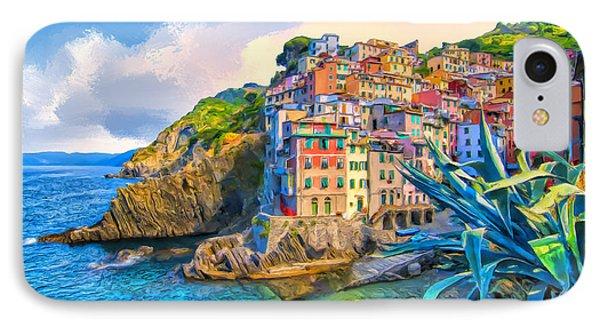 Riomaggiore Morning - Cinque Terre IPhone Case