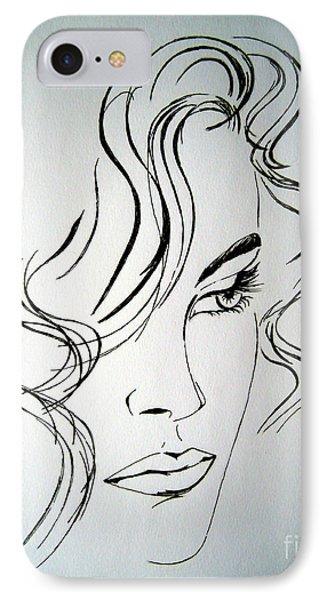 Ritratto Di Una Donna Sconosciuta - Portrait Of An Unknown Woman IPhone Case