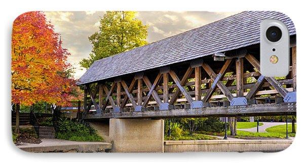 Riverwalk Footbridge IPhone Case