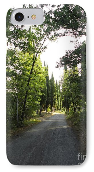 Road In Loppiano IPhone Case