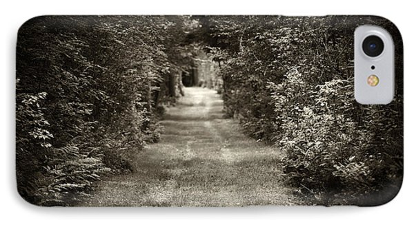 Road Through Forest IPhone Case