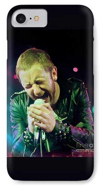 Rob Halford Of Judas Priest Without Flames Effect- Warfield Theater During British Steel-unreleased  IPhone Case