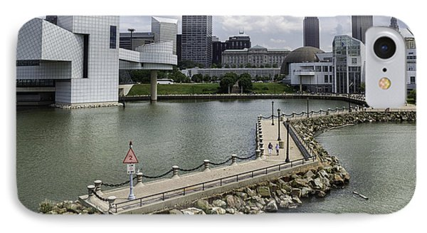 Rock Hall Of Fame On Lake Erie IPhone Case