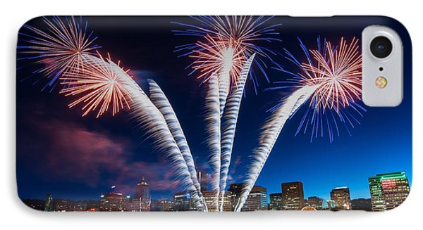 Rockets Red Glare IPhone Case