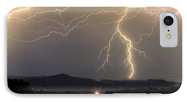 Rocky Mountain Thunderstorm  IPhone Case