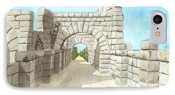 Roman Remains In Sicily IPhone Case
