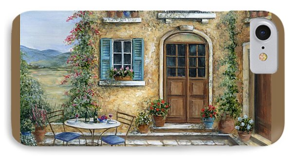 Romantic Courtyard IPhone Case
