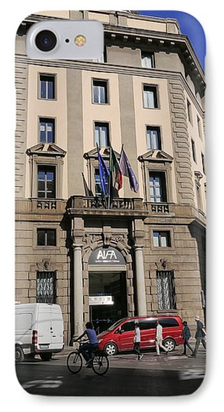Rome Buildings 5 IPhone Case