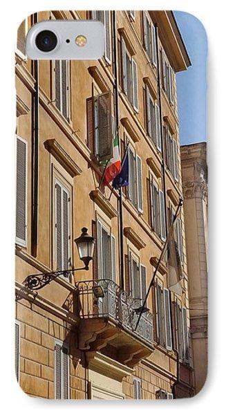 Rome- Buildings 7 IPhone Case