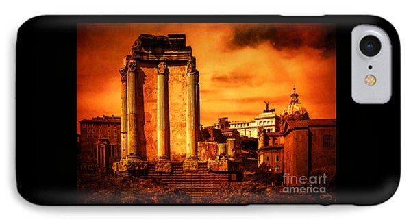 Rome Burning IPhone Case