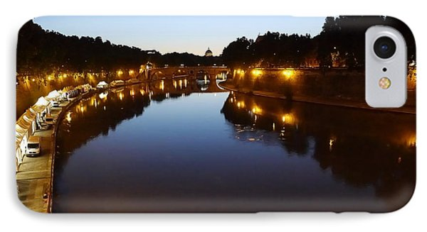 Rome- Dusk On The River2 IPhone Case