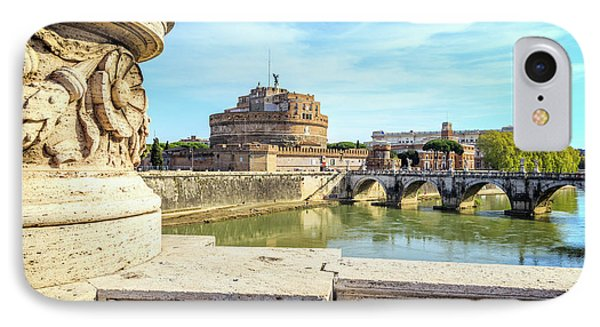 Rome, Italy. Castel Santangelo IPhone Case