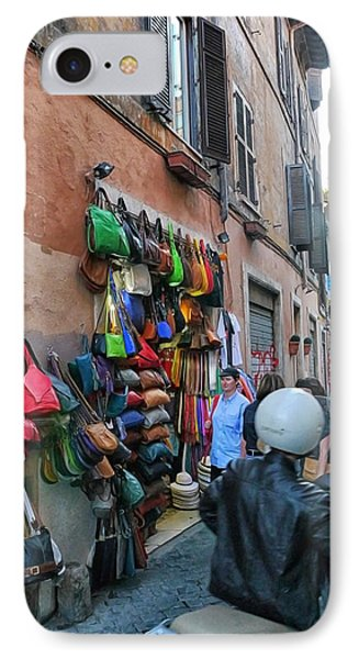 Rome- Street Market IPhone Case