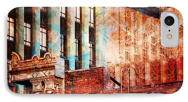Rooftop With Vintage Colors IPhone Case
