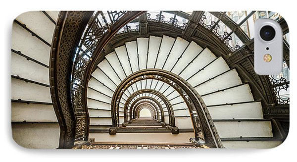 Rookery Building Oriel Staircase IPhone Case