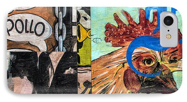 Rooster Graffiti IPhone Case