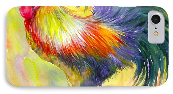 Rooster With Attitude IPhone Case