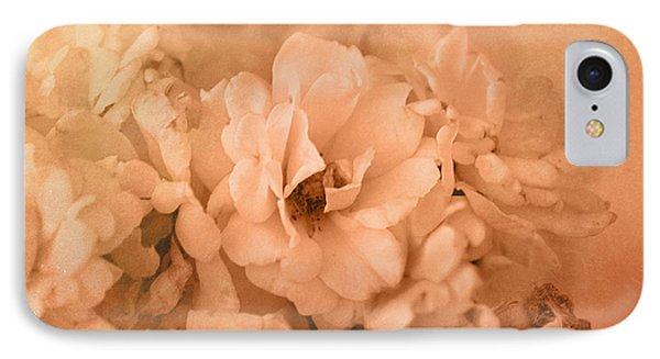 Rose Bouquet In Sepia IPhone Case
