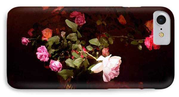 Rose Bouquet IPhone Case