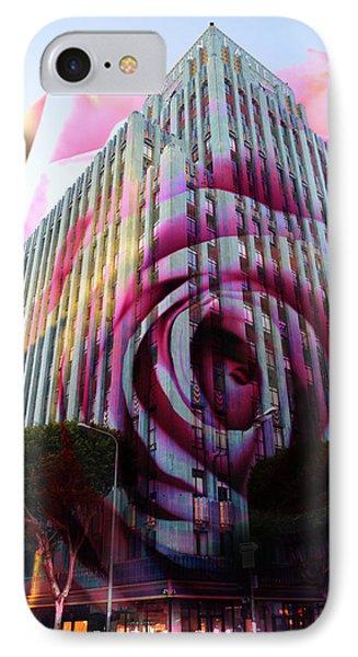 Rose Building IPhone Case