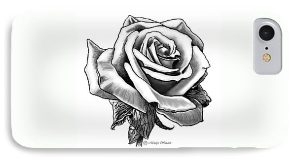 Rose Created For Canvas Comforts IPhone Case