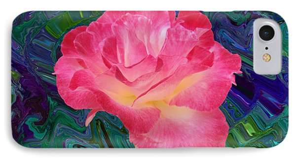Rose In The Matter Of Your Hand V7 IPhone Case