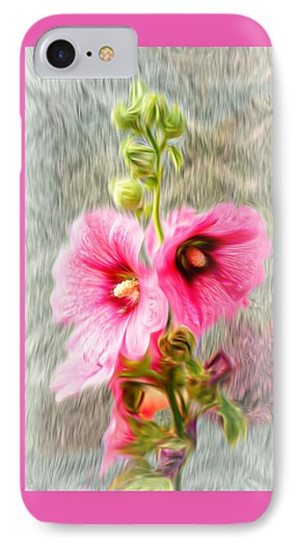 Rose Of The North Abstract. IPhone Case
