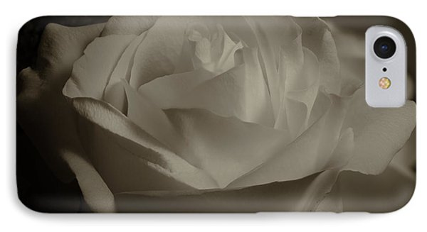 Rose Shadow And Light IPhone Case