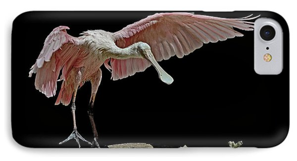 Roseate Spoonbill IPhone Case