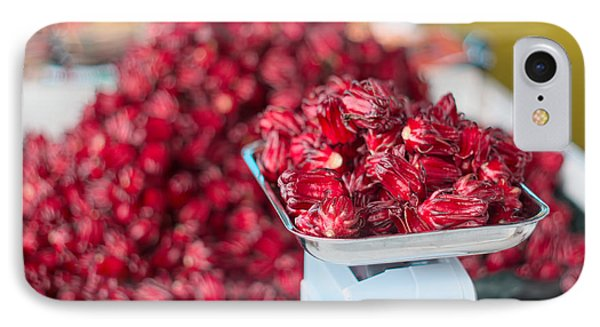 Roselle Fruit IPhone Case