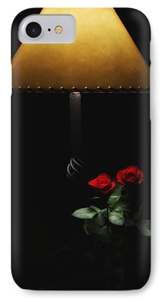 Roses By Lamplight IPhone Case