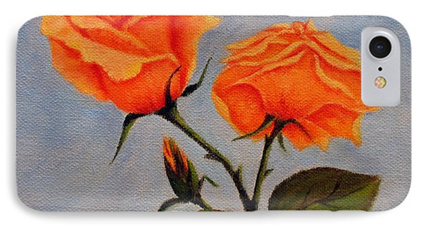 Roses With Bud IPhone Case