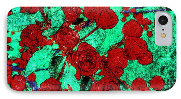 The Red Roses IPhone Case