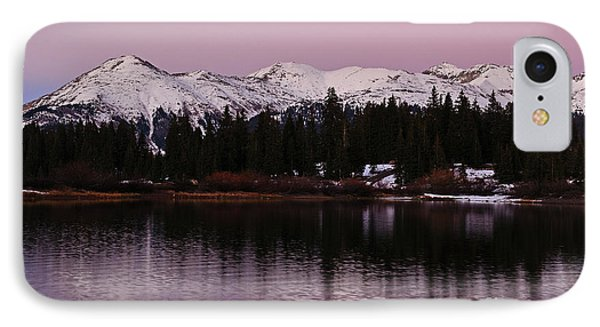 Rosey Lake Reflections IPhone Case