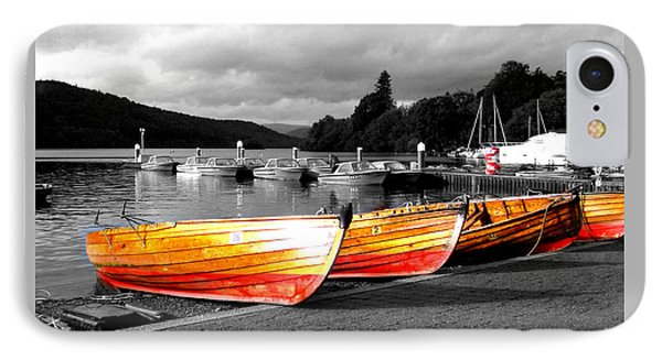 Rowing Boats Ready For Work IPhone Case