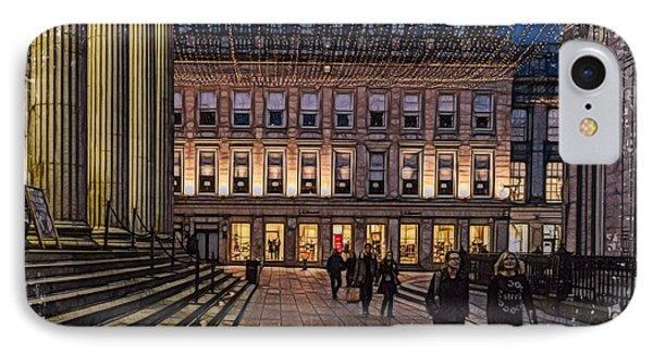 Royal Exchange Square  Glasgow IPhone Case