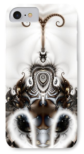 Royal Feline - A Fractal Design IPhone Case