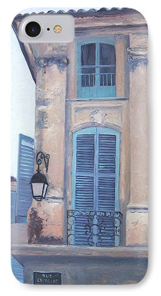 Rue Espariat Aix-en-provence IPhone Case