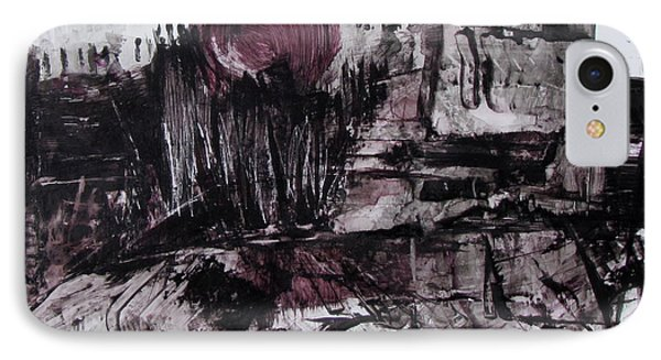 Ruins In Shades Of Gray  IPhone Case